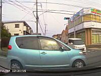 ビックリするほど危険なトヨタポルテの危険運転。茨城県で無茶苦茶な女性ドライバーに出会ったドラレコ。
