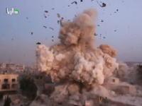 高画質な映像で見る「目の前に爆弾が落ちてくる瞬間」空爆される町シリアで撮影された衝撃映像。