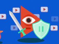 フェイスブックは動画泥棒。一日に8億回再生される動画の7割が著作権侵害らしい。