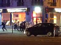 【パリテロ】警官と犯行グループの銃撃戦の様子がカメラに記録されていた動画。
