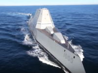 USSズムウォルト。米の最新鋭ステルスミサイル駆逐艦のデザインが超シンプル。