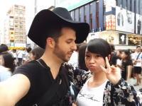 大阪の女ナンパするの簡単すぎ動画をアップした白人。日本の俺たちから嫉妬されまれまくる。