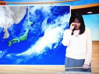 NHK山形で放送事故。お天気のお姉さんが生放送中に突然泣き出す(T-T)なにがあったんや。