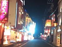 惨めな暴走単。寂しいから泉大津市板原町のラブホ街でブンブン暴走してみた動画。