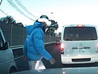 ユーチューブに流してやるぜHAHAHA!横浜新道DQNvsDQNの交通トラブルドラレコ。
