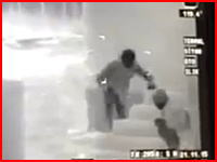 赤外線カメラの中の戦争。3人のテロリストに銃撃を加える衝撃のライブリーク動画。