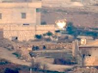 今日のアッラーフアクバル動画。生身の人間に誘導ミサイルがぶち込まれる瞬間。