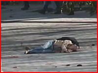 トルコの首都イスタンブルでイスラム国による自爆テロが発生。10名が死亡。その現場の様子。