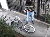 これガチなの?チャリに電気ショックのワナを仕掛けて自転車泥棒を撃退してみた。