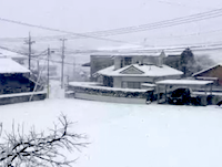 本州最南端の鹿児島でも大雪に。この動画だけ見たら雪国に見える!でも鹿児島!