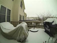 これは積雪何センチなんだよ?一晩で積もった雪のタイムラプス映像がやばい。