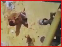 北朝鮮の国防相が対空高射機関銃で処刑された時の映像とされるものが発掘される。