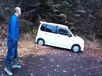 ジムニーで林道ドライブ中に練炭自殺の車両を発見してしまった記録動画。