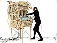 ウィンターガタン。2000個の鉄球で奏でる楽器ができた動画 (1g小ネタ集)