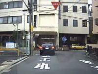 守口の覆面パトカーが指定場所一時不停止!?撮影し注意するも逆切れされた動画。