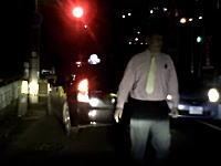 ブチギレタクシー。右左折のトラブルで追いかけられて怒鳴られたドライブレコーダー。