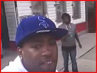 ネット動画配信中に撃たれてしまった男性が重体に。配信に銃撃の瞬間が映る。