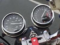 またYouTubeから逮捕者が出る予感。館山自動車道でゼファー400最高速チャレンジ