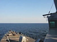 アメリカ軍の駆逐艦を威嚇しまくるロシアさん。Su-24で約9メートルまで近づく牽制飛行。