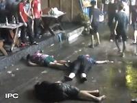 タイのチンピラ手加減なさすぎ。英国人女性の顔面をサッカーボールキック(°_°)フワヒンで英国人家族がボコられてしまう動画が話題に。