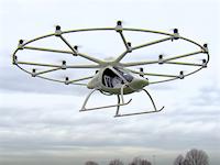 18個のプロペラを搭載した電動ヘリコプター「Volocopter VC200」有人飛行を成功させる。