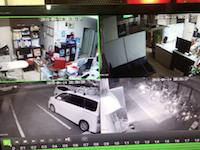 熊本大地震発生の瞬間を記録していた監視カメラの映像が公開される。震度7。