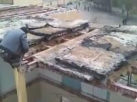 イランでデンジャラスい解体作業の様子がアップされる。あっぶねえwww足場せめえwww