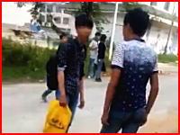 喧嘩?イジメ?が殺人事件に。13歳の少年が15歳を刺し殺す。そのビデオが公開される。
