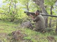 グングン動画。トルコ軍のAH-1コブラを携帯ミサイルで撃墜した反政府ゲリラ側のビデオ。