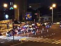 珍走団って最近ほとんど見ないと思ってたけど神奈川にはまだこんなにいるんだな。