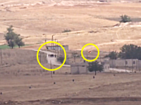 今日のアッラーフアクバル。生身の人間に誘導ミサイルが撃ち込まれる衝撃映像。