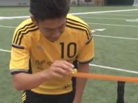 香川しんじ装置♪香川真司がピタゴラスイッチ♪に登場して話題になっている動画。