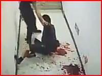 警察官による同僚めった刺し殺人事件で公開された犯行ビデオがコッワスギル(°_°)