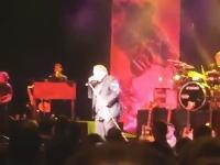 ロック歌手のミートローフさんがコンサート最中に卒倒。その様子を観客が撮影していた。