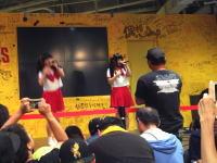 タワーレコード梅田で行われたアイドルイベントでファンが激怒発狂。他のファンから帰れコールも。