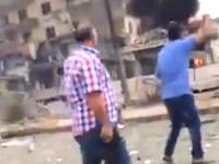 トルコで自爆テロ。自動車自爆で3人が殺された現場の映像。マルディン。