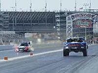 850馬力オフロードカーと10,000馬力ファニーカーのドラッグレース対決やってみた。