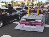 竹やりマフラーに箱乗りタコ踊り。名古屋オートフェスティバルに集まった車たちが凄いw