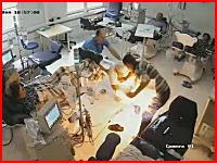 人工透析中の患者が生きたまま焼かれる事件。監視カメラの映像が公開される。