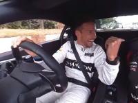 スマホで見るとまじ凄い。ジェンソン・バトンが運転する新型NSXの360°ビデオ