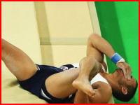 リオ五輪で放送事故。体操跳馬でフランスの選手が左足をうわああああ(@_@;)