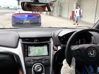 中谷明彦による新型NSX試乗(鈴鹿サーキット)ドライ&ウエットコンディション
