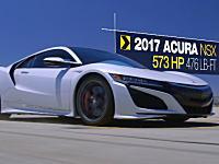 新型NSXの実力は!?今年の新車ドラッグレース対決にホンダNSXが登場。