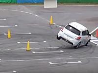 ダンロップの高性能タイヤDIREZZA β02のグリップが高すぎて横転する車が続出ww