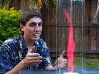 仕組みは簡単みて楽しい。炎が渦巻くトルネードキャンドルの作り方。