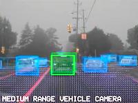 自動運転中のテスラは道路状況をこのように判断している動画が面白い。