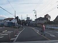 道路への飛び出しは子供だけじゃない。宇都宮市では無謀なおばあちゃんが飛び出してくるドラレコ。