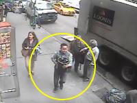 開けっ放しだった現金輸送車の荷台から約1億8千万円分の金入りバケツを盗んだ男。