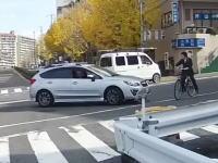 この運転手クズすぎる。吹田市で撮影されたひき逃げ事件のドライブレコーダー映像。