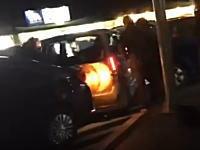 DQNかと思ったら警察だった。グンマーで撮影された指名手配犯逮捕の瞬間が凄い。